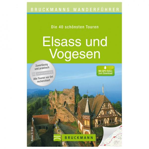 Bruckmann - Wanderführer Elsass und Vogesen - Vandreguides