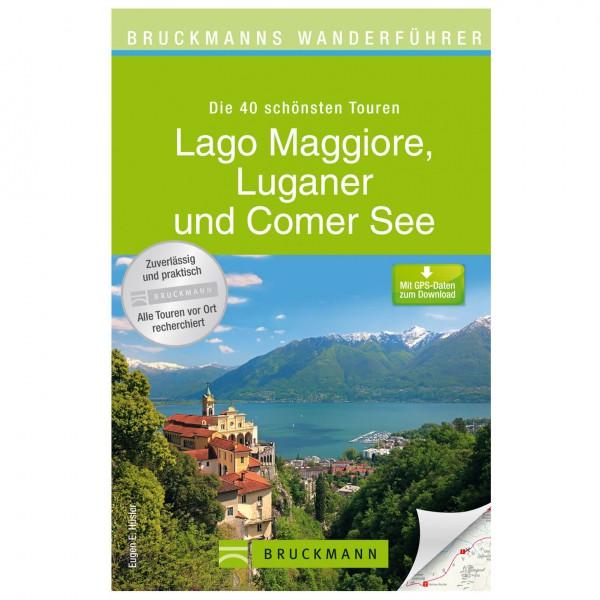 Bruckmann - Wanderführer Lago Maggiore, Luganer & Comer See - Vandreguides