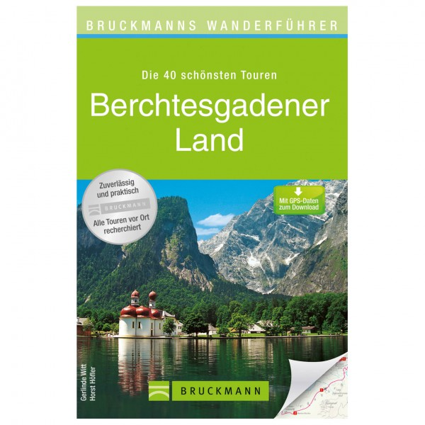 Bruckmann - Wanderführer Berchtesgadener Land - Walking guide book