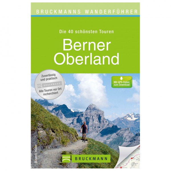 Bruckmann - Wanderführer Berner Oberland - Vaellusoppaat