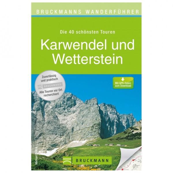 Bruckmann - Wanderführer Karwendel und Wetterstein - Guías de senderismo