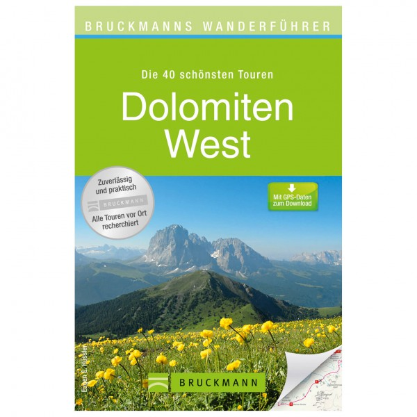 Bruckmann - Wanderführer Dolomiten West - Walking guide book