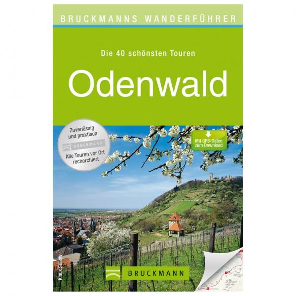 Bruckmann - Wanderführer Odenwald - Vandringsguider