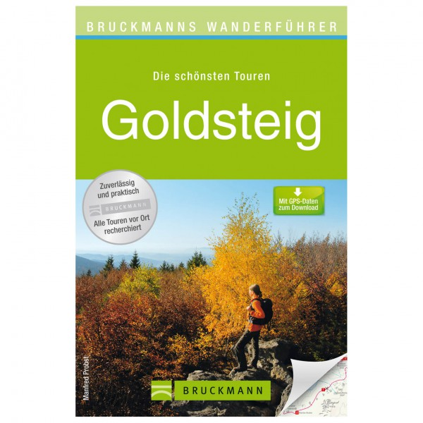 Bruckmann - Wanderführer Goldsteig - Walking guide book
