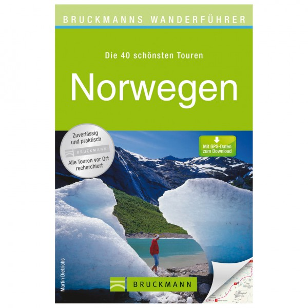 Bruckmann - Wanderführer Norwegen - Vandreguides