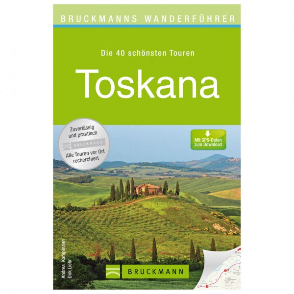 Bruckmann - Wanderführer Toskana - Wandelgids