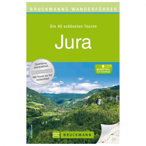 Bruckmann - Wanderführer Jura - Vaellusoppaat
