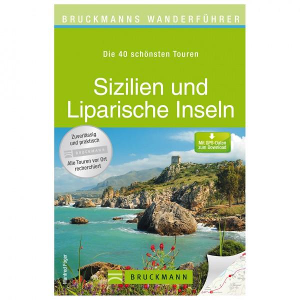 Bruckmann - Wanderführer Sizilien und Liparische Inseln - Vandringsguider