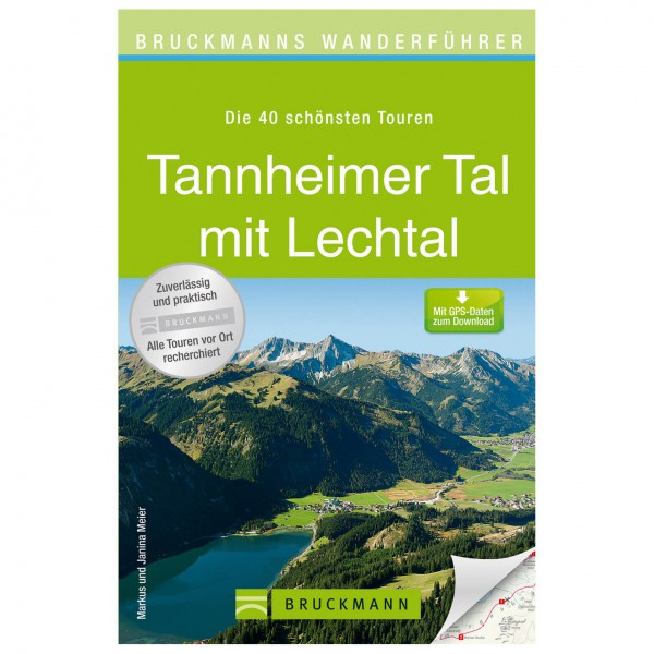 Bruckmann - Wanderführer Tannheimer Tal mit Lechtal - Guías de senderismo