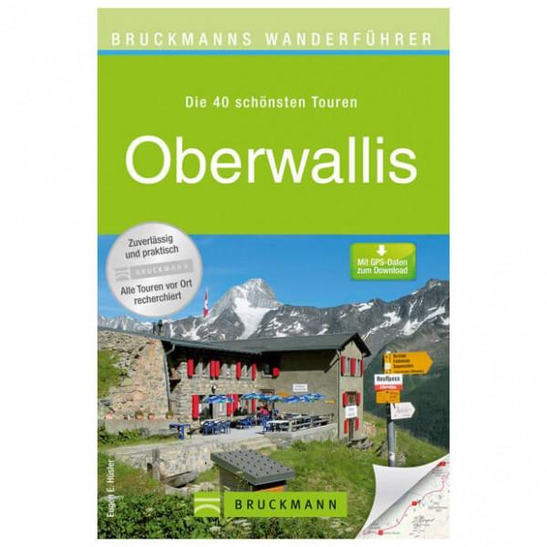 Bruckmann - Wanderführer Oberwallis - Vandringsguider