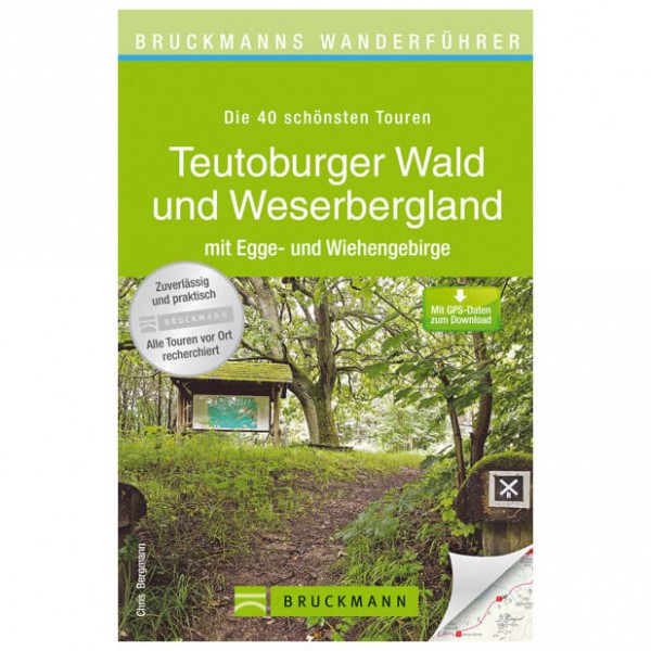 Bruckmann - Wanderführer Teutoburger Wald und Weserbergland - Turguider