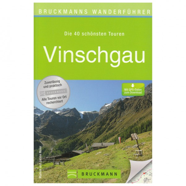 Bruckmann - Wanderführer Vinschgau