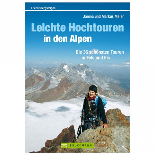 Bruckmann - Leichte Hochtouren in den Alpen - Walking guide book