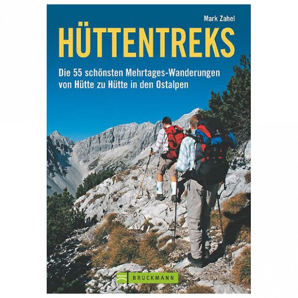 Bruckmann - Hüttentreks - Wandelgidsen