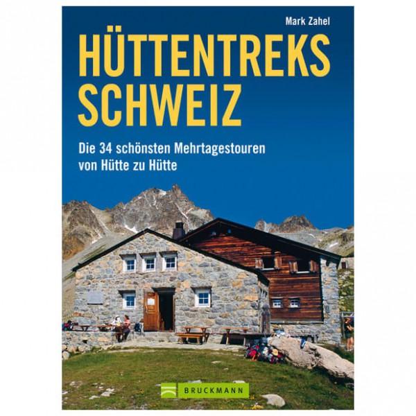 Bruckmann - Hüttentreks Schweiz - Guide de randonnée