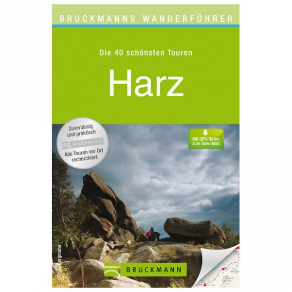 Bruckmann - Wanderführer Harz - Walking guide book