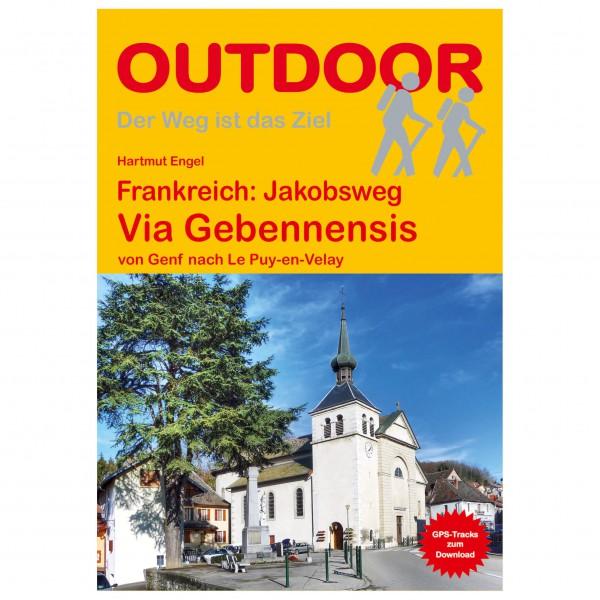 Conrad Stein Verlag - Frankreich: Jakobsweg Via Gebennensis - Wandelgidsen