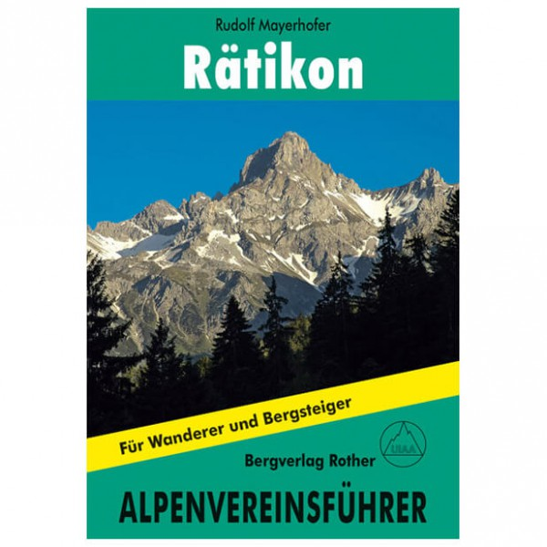 Bergverlag Rother - Rätikon - Walking guide books