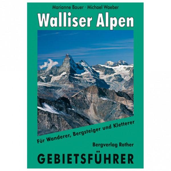 Bergverlag Rother - Walliser Alpen - Vaellusoppaat