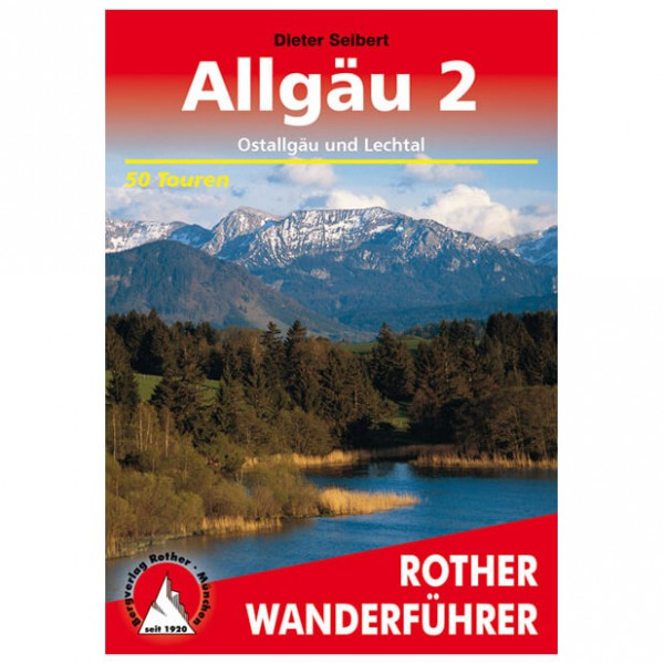 Bergverlag Rother - Allgäu 2 - Vaellusoppaat