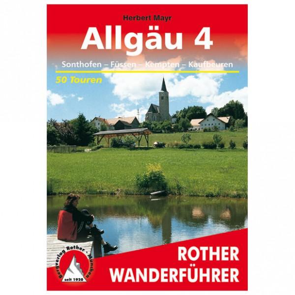 Bergverlag Rother - Allgäu 4 - Walking guide books