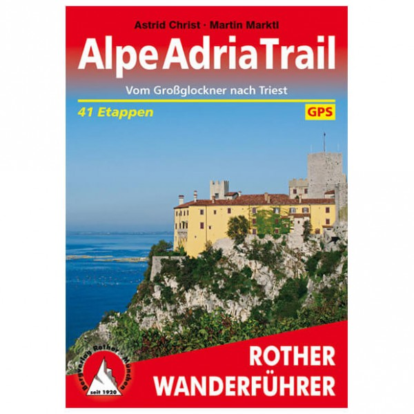 Bergverlag Rother - Alpeadriatrail - Walking guide book