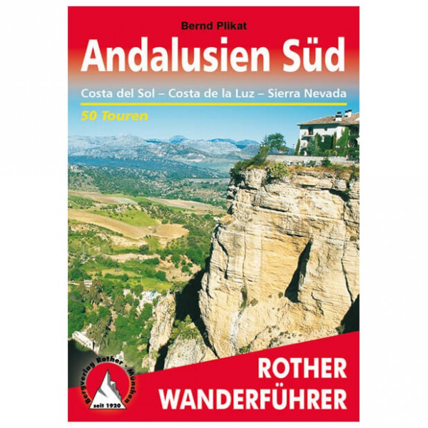 Bergverlag Rother - Andalusien Süd - Vaellusoppaat