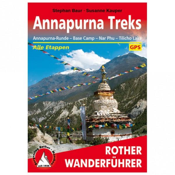 Bergverlag Rother - Annapurna Treks - Guides de randonnée
