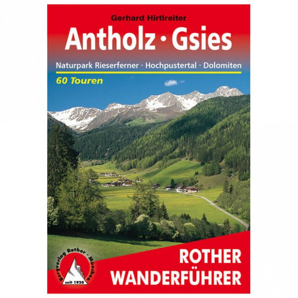 Bergverlag Rother - Antholz - Gsies - Wanderführer