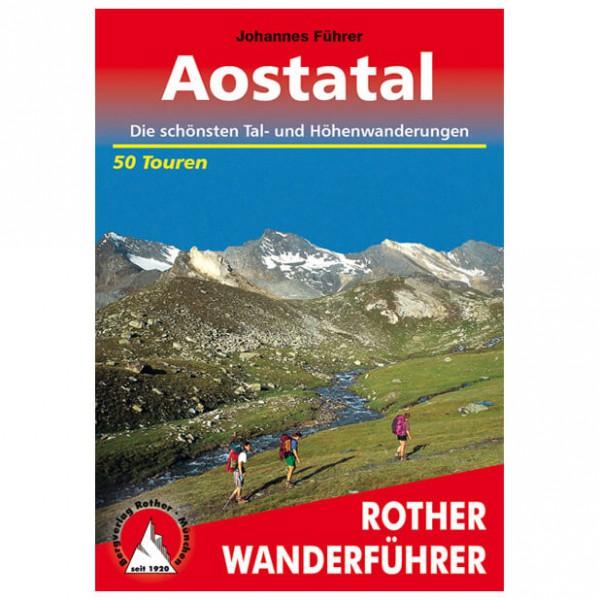 Bergverlag Rother - Aostatal - Guides de randonnée