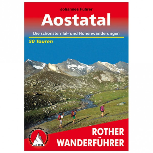 Bergverlag Rother - Aostatal - Vaellusoppaat
