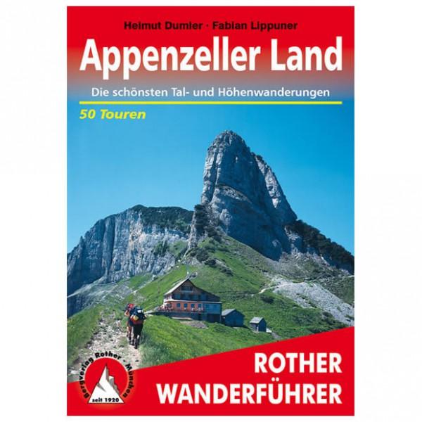 Bergverlag Rother - Appenzeller Land - Walking guide books