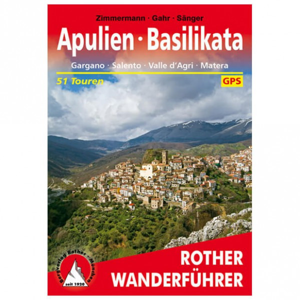 Bergverlag Rother - Apulien - Basilikata - Wanderführer