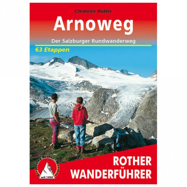 Bergverlag Rother - Arnoweg - Walking guide books