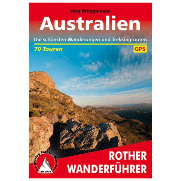 Bergverlag Rother - Australien - Walking guide book