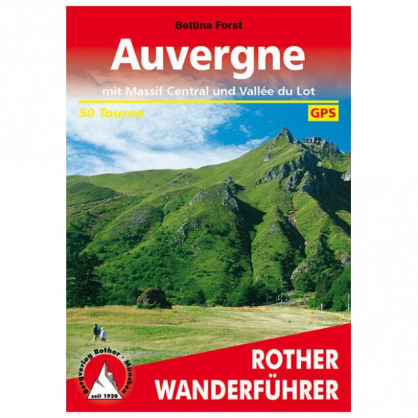 Bergverlag Rother - Auvergne - Massif Central