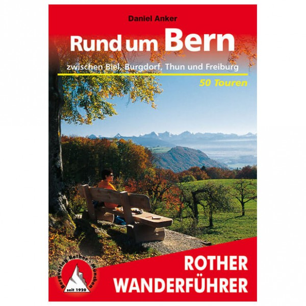 Bergverlag Rother - Bern - Guides de randonnée