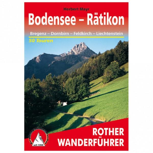 Bergverlag Rother - Bodensee bis Rätikon - Wandelgidsen