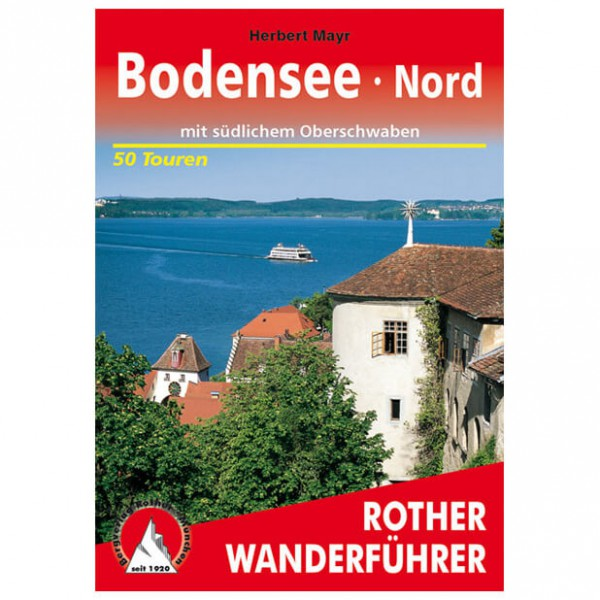 Bergverlag Rother - Bodensee Nord - Wandelgidsen