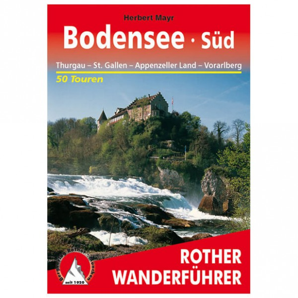 Bergverlag Rother - Bodensee Süd - Wandelgids