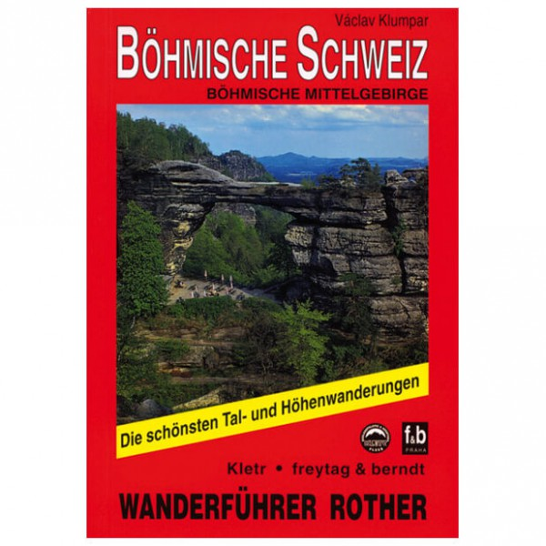 Bergverlag Rother - Böhmische Schweiz - Wanderführer