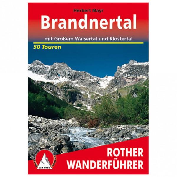 Bergverlag Rother - Brandnertal - Guides de randonnée