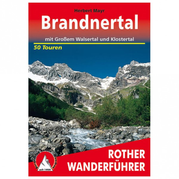Bergverlag Rother - Brandnertal - Walking guide book