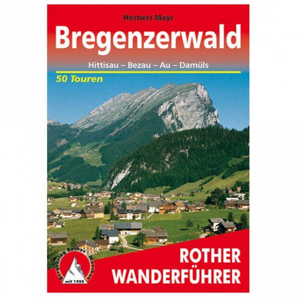 Bergverlag Rother - Bregenzerwald - Vaellusoppaat