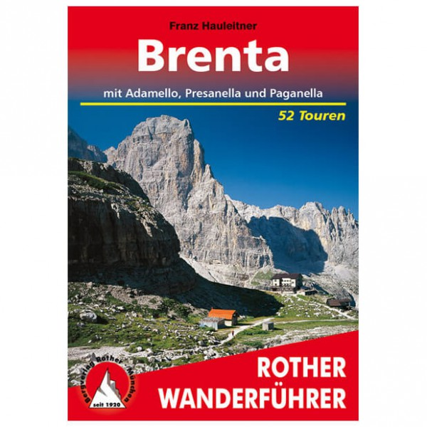 Bergverlag Rother - Brenta - Walking guide books