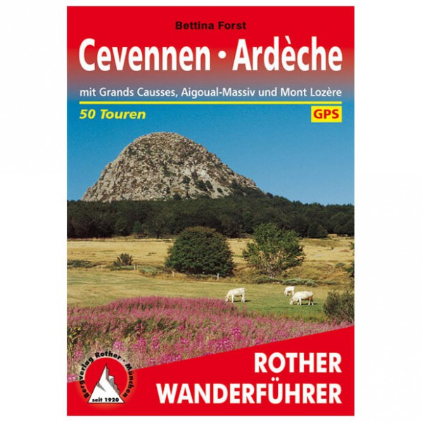 Bergverlag Rother - Cevennen - Ardèche - Wanderführer