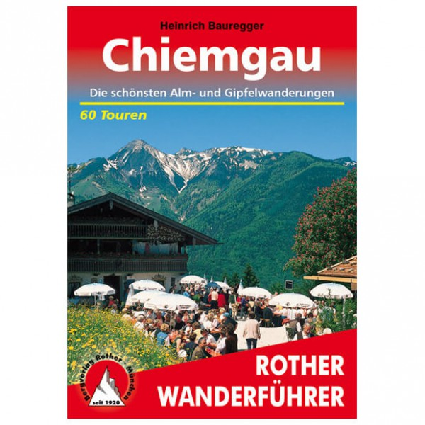 Bergverlag Rother - Chiemgau - Vaellusoppaat