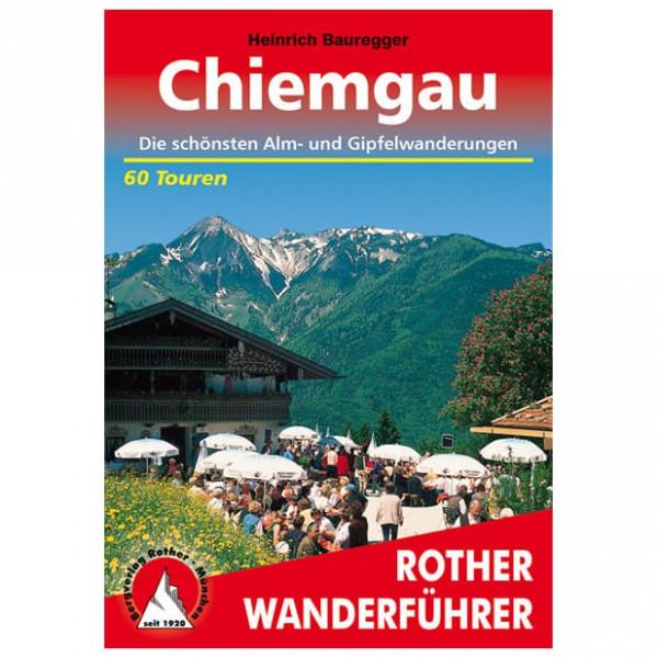 Bergverlag Rother - Chiemgau - Walking guide books