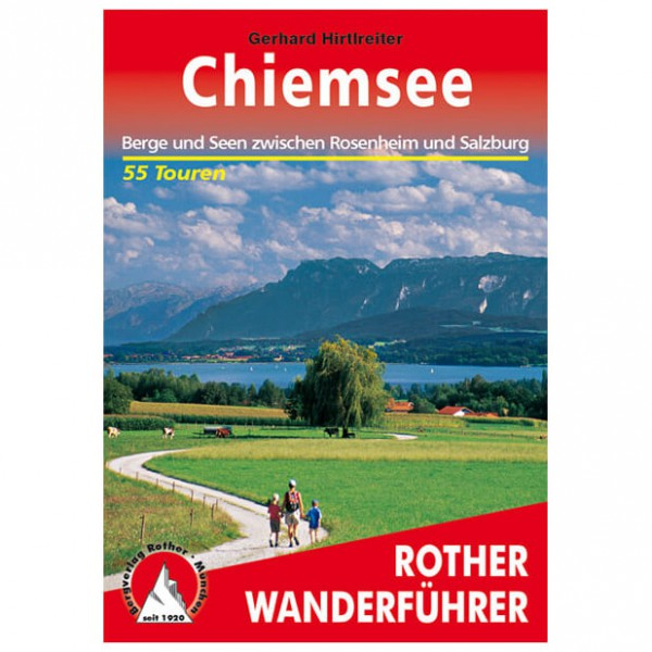 Bergverlag Rother - Chiemsee - Walking guide books