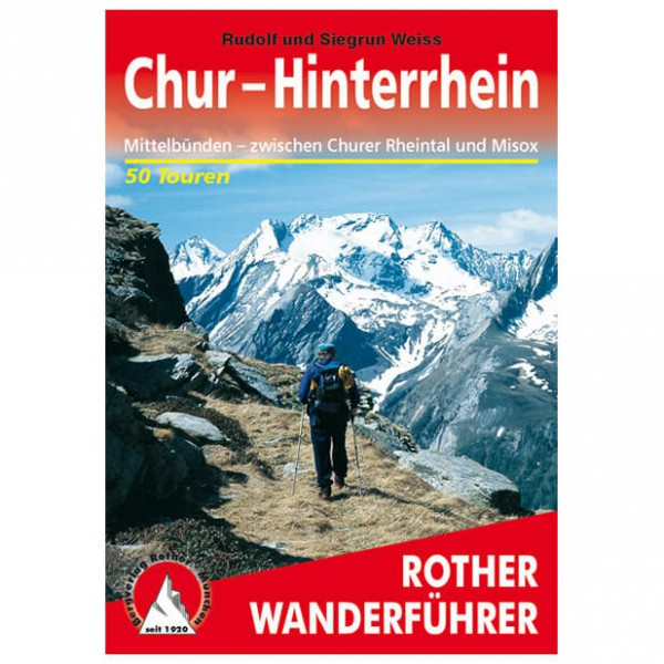 Bergverlag Rother - Chur - Hinterrhein - Walking guide book
